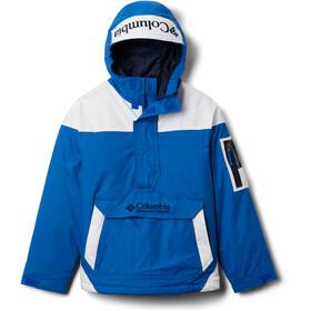 Columbia Challenger Pullover Jas Kinderen, blauw/wit